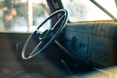 Untitled (Howard Yang Photography) Tags: vintagetruck dodge leicam 50mm sonnar bokeh