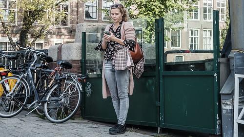 Amsterdam, By Myself, Center, Netherlands, Street