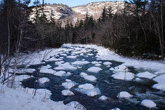 Ice Burgs of New Hampshire (Northern Wolf Photography) Tags: 17mm em5 flow forest ice landscape mountains nature river snow swift trees water winter woods conway newhampshire unitedstates us