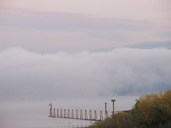 Morning clouds (jamica1) Tags: clouds mist fog shuswap lake salmon arm bc british columbia canada
