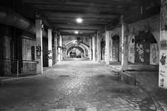Aberdeen (Bob Bain1) Tags: aberdeen tunnels scotland eos monochrome