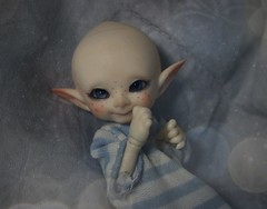 Pipin - Realpuki pupu Fairyland (Loony-Doll) Tags: fairyland realpuki pupu realpukipupu fairylandpupu bjd elf elfe doll dolls pipin makeup eyes acryliques micro