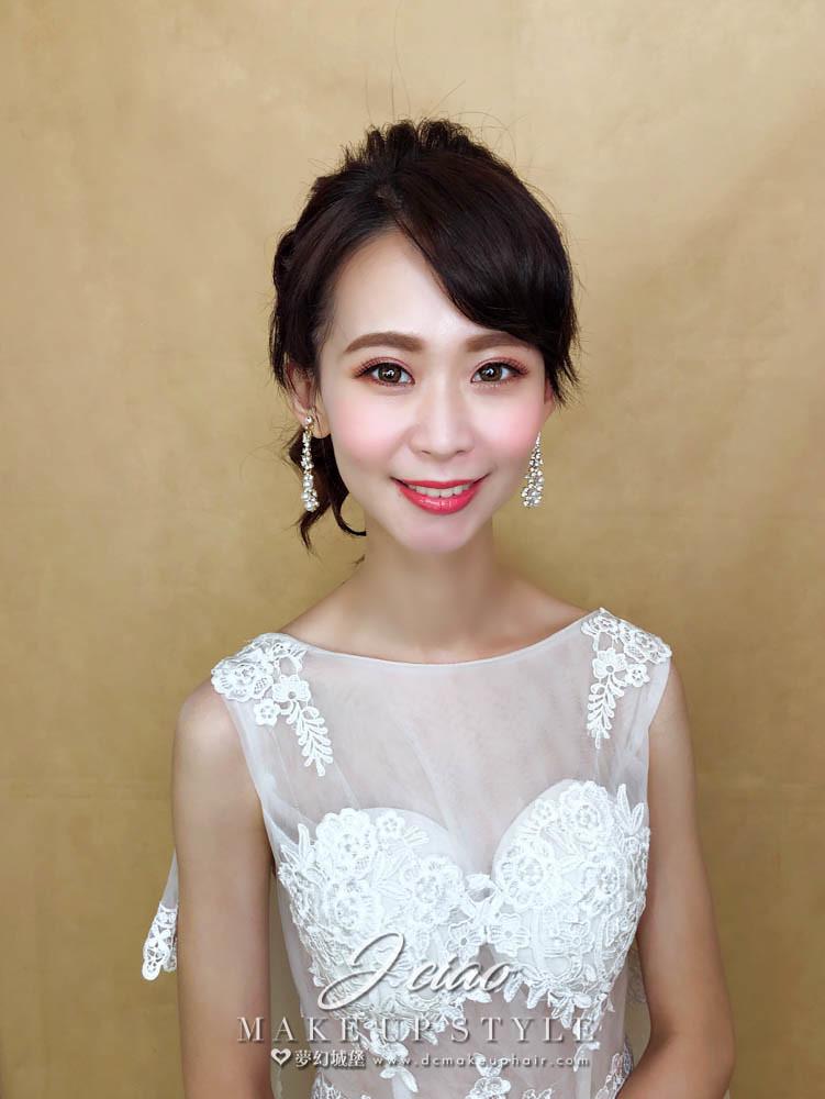 【新秘婕喬】新娘造型創作 / 俏麗高馬尾