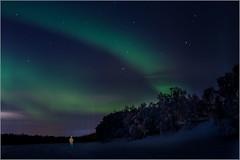 les lumières de laponie (kalzennyg) Tags: finland lapland winter nothernlights kalzennyg aurores boréal