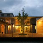 木質構法を用いた復興住宅モデルの写真