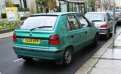 1999 Skoda Felicia LXi (occama) Tags: t626kpp 1999 skoda felicia lxi old green cornwall uk vag