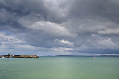 St Ives on a stormy day (jimj0will) Tags: stives cornwall england sea coast water ocean