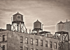 1 sepia water tanks (Singing With Light) Tags: 2016 2017 28th 2ndave 59thstreetbridge alpha6500 february milford mirrorless ny nyc roosevelt singingwithlight tram a6500 park photography randomshots singingwithlightphotography sony sunrise winter