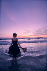 Purple (bdrc) Tags: 1116mm a7iii laea4 malaysia aru asdgraphy beach black bluehour concept dark dress evening f28 fullframe girl girlfriend holiday kinabalu kota malaysiaphotographer minami mirrorless people portrait pretty sabah sea sony sonyalpha sonyimages sonyuniverse sunset tanjung tokina travel trip ultrawide viv vivi woman purple