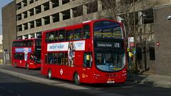 Diverted Vehicle (londonbusexplorer) Tags: goahead london volvo b9tl wrightbus gemini 2 wvl413 lx11cwu 178 woolwich lewisham station tfl buses