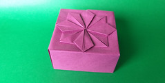 Tomoko Fuse Box Lid (georigami) Tags: origami papiroflexia paper papel