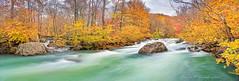Fall afternoon on 2  Richland Creek (Paul2660-1) Tags: arkansasphotography arkansasozarks arkansas landscapephotography landscapes richlandcreek fallscenes fallfoliage panoramas nikond850 nikonphotography