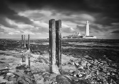 last post of 2018 (SkyeBaggie) Tags: st marys lighthouse northumberland