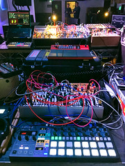 My Set-Up (diskojez) Tags: synth synths music tech pickle factory london cubic space collective