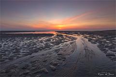 Follow the flow! (karindebruin) Tags: katja maasvlakte nederland noordzee northsea thenetherlands zonsondergang zuidholland laagwater lowtide sunset