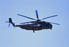 Berlin SXF ILA 2010 CH-53 Bundeswehr Heer (rieblinga) Tags: berlin ila sxf 2010 heer hubschrauber bundeswehr ch53 sonderlackierung ankunft analog canon eos 1v agfa ct precisa 100 diafilm