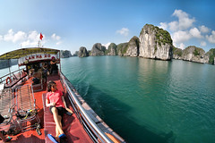 Ha Long Bay on a Cruise (pallab seth) Tags: hạlongbay vịnhhạlong vietnam việtnam quangninh towerkarst limestonepillars islands islets marine nature landscape scenic tour travel boat