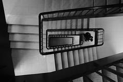 DSCF0688 (jipples) Tags: streetphotography stairwell stairs blackandwhite fujifilm