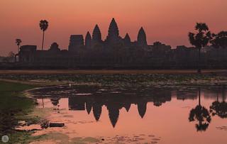 Angkor Wat before sunrise [KH]