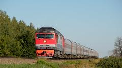 ТЭП70-0330 (Pavel888) Tags: тепловоз локомотив пассажирский россия ржд деревня russia rzd ювжд fujifilm fujinon xt2 xc50230mm tep700330 tep70 330 тэп70 тэп700330