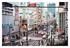 Tokyo Street (SebRiv) Tags: firstroll contaxt2 kodak400