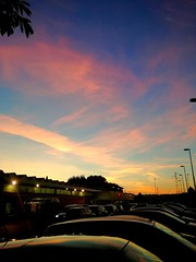 Pastel Sky ️ (alessandrolonghini1998) Tags: sky blue tint sunset clouds pink shades random pastels sun autumn colori rosa cielo