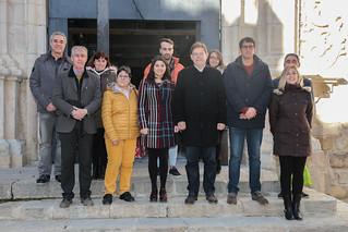El president de la Generalitat, Ximo Puig, realiza una visita a la residencia de personas mayores San Juan Bautista de Morella y a las obras del centro de salud de la localidad. (05/01/2019)