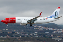 SE-RTC Norwegian Air Sweden B737-8MAX, GCTS, Spain (Sebastian Viinikainen.) Tags: sertc norwegian sweden gcts tenerife b7378max max boeing