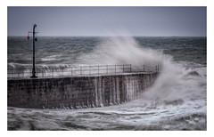 Ocean Fury (Rich Walker Photography) Tags: cornwall seawall sea ocean waves wave water crash wall harbour landscape landscapes landscapephotography canon coast coastline coastal england efs1585mmisusm eos eos80d porthleven