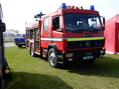 1996 Mercedes Benz 1124 Saxon Pump Ladder (andrewgooch66) Tags: classic vintage veteran heritage preserved emergency fire ambulance firstaid tender appliance pump rescue ladder