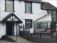 7937 A good value meal at a local tavern (Andy - An idle laddy) Tags: advert advertising inn meal pub tafarntygwyn tavern