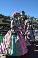 Un beau trio (RarOiseau) Tags: hautesavoie annecy carnaval fête masque ville événement