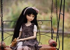 Swing Time (stashraider) Tags: customhouse choa ball jointed resin doll swing