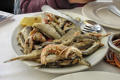 Con Rafa Restaurant, Cadaques (dckellyphoto) Tags: food cadaques conrafa spain catalonia 2015 fish shellfish lunch seafood fried goog
