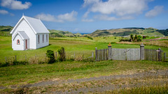 Little church with a big view (Stefan Marks) Tags: church cloud nature outdoor sky kohekohe northisland newzealand