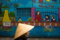 B52 Hanoi Backstreets (Jeff Williams 03) Tags: vietnam hanoi b52 streetphotography street candid colour woman hat nikon