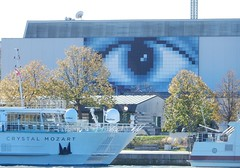 The Eye of Crystal Mozart (mikecogh) Tags: vienna crystalmozart boat eye tourism