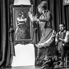 BAILAR (zventure,) Tags: zventure blackandwhite noiretblanc espagnol espagne danse flamenco cordou spectacle portrait femme homme monochrome