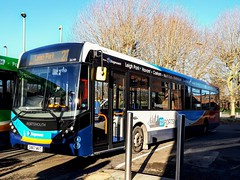 26149 SN67WVT (PD3.) Tags: 26149 sn67wvt sn67 wvt adl enviro 200 mmc havant station bus buses psv pcv hampshire hants england uk portsmouth stagecoach