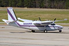 N680RR - 4/2/19 (nstampede002) Tags: rockwell rockwellaerocommander aerocommander aerocommander680 aerocommander680f 680 680f commander commander680 khmp aviationphotography generalaviation aerocommander680fp commander680fp 680fp