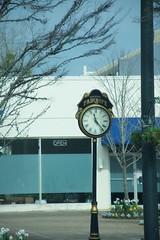 Traveing through Fairhope (King Kong 911) Tags: building clock downtown1 fairhope retail stores traveingthroughfairhope