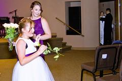 Flower Girl (E.B Anderson Photography) Tags: wedding flower girl ceremony children women gift flowers