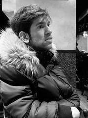 Telmo (Josu Sein) Tags: portrait retrato friendship amistad friend amigo strength fuerza queer monochrome monocromo