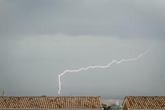 Connected (Lolo_) Tags: marseille lightning storm orage éclair ville city thunderstorm strike roofs toits church église quartiers nord 15ème