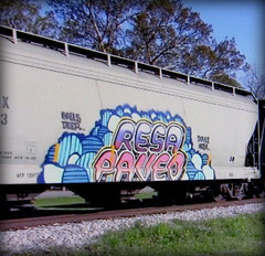 (timetomakethepasta) Tags: resa paveo balls deep freight train graffiti art grainer hopper