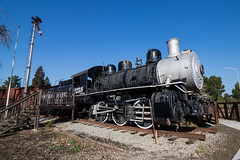 SP #1258 Martinez, California 2 (ScholzRUNNER) Tags: trains transportation tracks rails railroad southernpacificrailroad sp espee martinez california steamlocomotive 060 railroadphotography