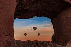 Your Window (BeNowMeHere) Tags: ifttt 500px trip benowmehere cappadocia goreme goremenationalpark sunrise turkey window yourwindow balloon hotairballoon kapadokya travel