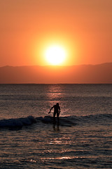 Surf in orange (meeekn) Tags: nikon d750 sun surf ocean sunset sea wave surfing orange japan color shadow