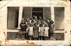 Gladys Holt's 1st Grade Class (Familypapers) Tags: portrait blackandwhitephoto children babypictures