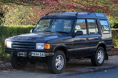 P934 DAO (Nivek.Old.Gold) Tags: 1996 land rover discovery tdi 5door 2495cc
